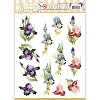 Marieke Design stansvel A4 - Early Spring - Irises