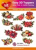 Easy 3D Toppers Christmas Floristy 2