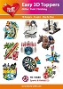 Easy 3D Toppers Sports & Hobby (2)