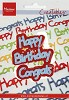 MD Creatables stencil Happy Birthday