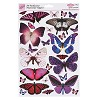 Anita's stansvel A4 Flutterdies Toppers - Pearlecent Exotic