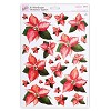 Stansvel A4 Poinsettia Toppers - Pearlescent
