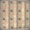 Beatrix Rose Scrapbook Paper Fall Glitter Leaves Wallpaper 30,5x30,5cm 25 vellen - scrap/BPA 5528 99