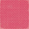 K&Company Scrapbook Paper Peppermint Red Ornaments 30,5x30,5cm 12 vellen - scrap/655096