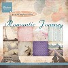 MD Pretty Papers bloc Romantic Journey 15x15cm 32vellen