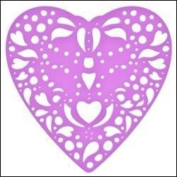 Couture Creations Doily Die Be My Valentine