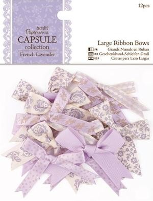 Docrafts Papermania Grote Strikjes French Lavender