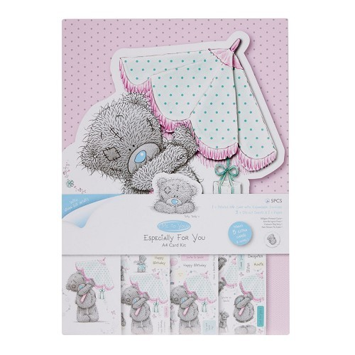 Me To You Card Kit Female Birthday