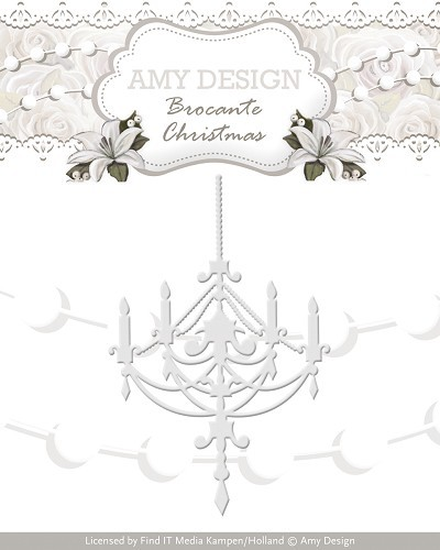 Amy Design die- Brocante Christmas - Chandelier