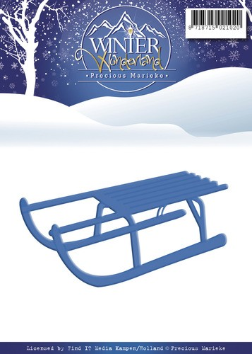 Die - Precious Marieke - Winter Wonderland - Sled