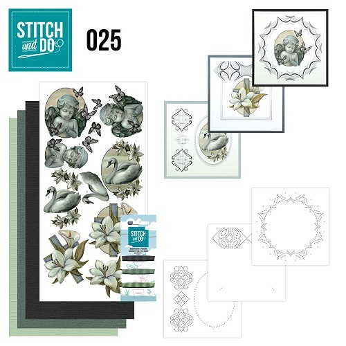 Borduurpakketje Stitch and Do 25 - Condoleance