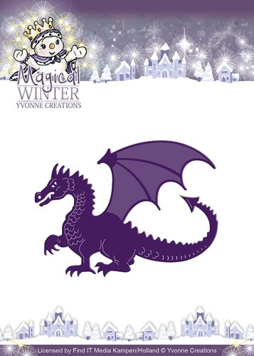 Die - Yvonne Creations Magical winter - Dragon