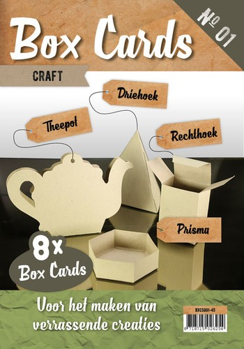 Boek Box Cards 1 - Craft