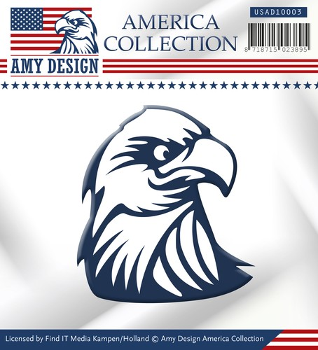 Amy Design die - America Collection - Eagle