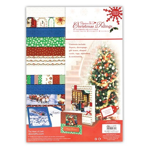 A4 Ultimate Decoupage Pack (48pcs) - Christmas Tidings