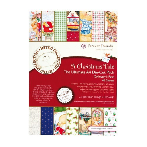 A4 Ultimate Decoupage Pack (48pcs) - A Christmas Tale