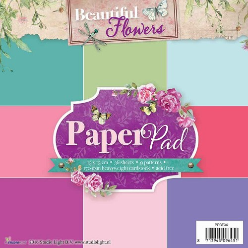 Beautiful Flowers - Paper Pad