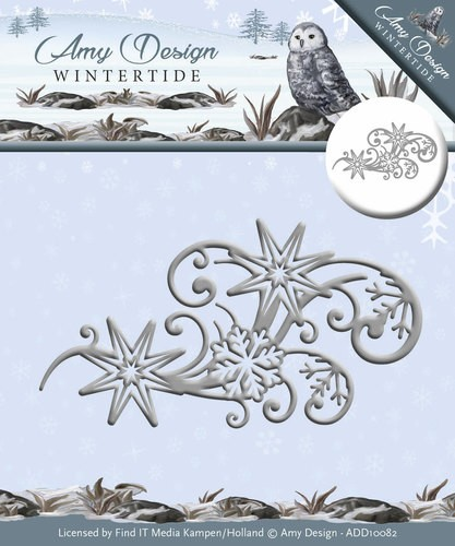 Amy Design die- Wintertide - Ice Crystal Swirl