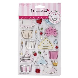 Clear Stamp - Cupcakes