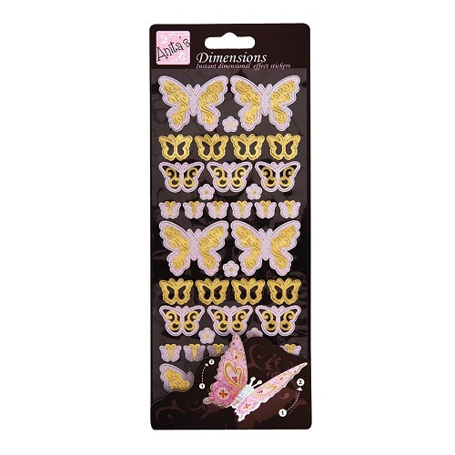 Anita`s Stickervel Dimensions Soft Butterfly