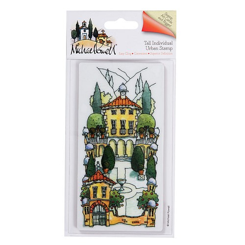Docrafts Rubber stamp Urban Topiary Garden