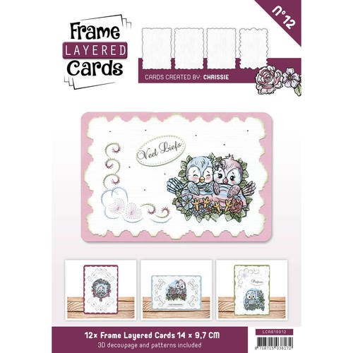 boek Frame Layered Cards 12 - A6