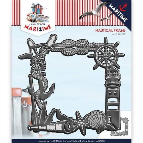 Amy Design die - Maritime - Nautical Frame