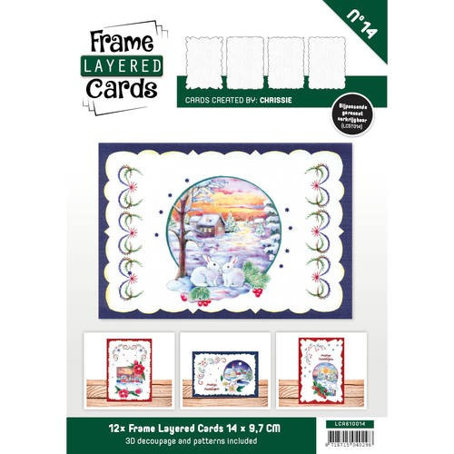 Boek Frame Layered Cards 14 - A6