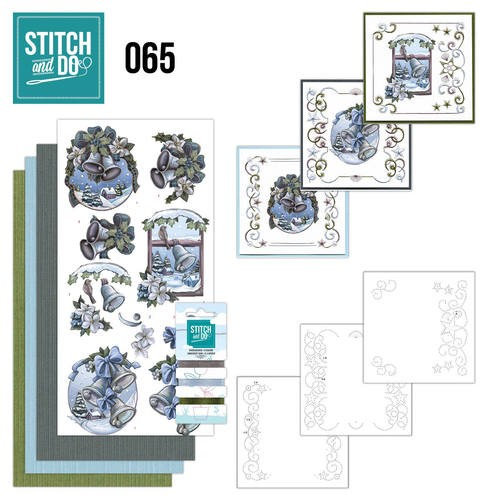 Borduurpakketje Stitch and Do 65 - The feeling of christmas