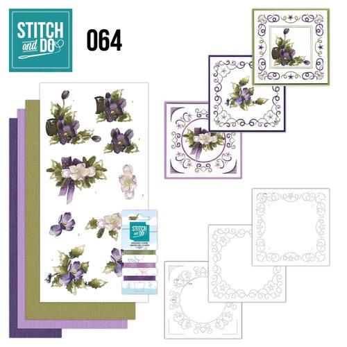 Borduurpakketje Stitch and Do 64 - The nature of christmas