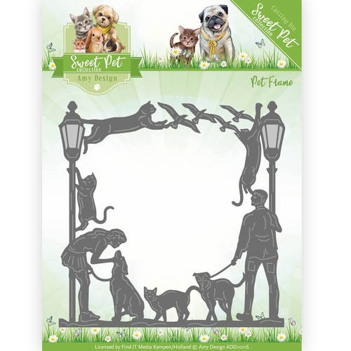 Amy Design die -  Sweet Pet Frame