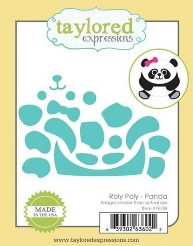 Taylored Expressions snijmal set Roly Roly Panda