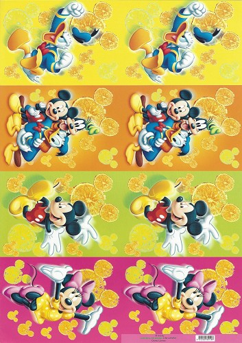 Disney Toppers 2x A4 Donald and Friends