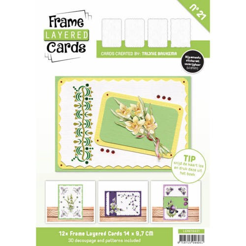 Boek Frame Layered Cards 21 - A6