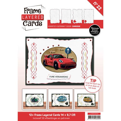 Boek Frame Layered Cards 22 - A6