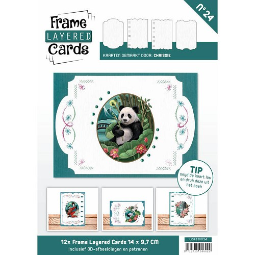 Boek Frame Layered Cards 24 - A6