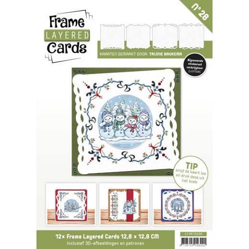 Boek Frame Layered Cards 28 - 4K De Mobiele Hobbywinkel