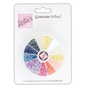 Anita's Pearl Gemstone Wheel